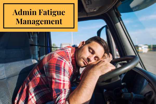 Admin Fatigue Management Training Image