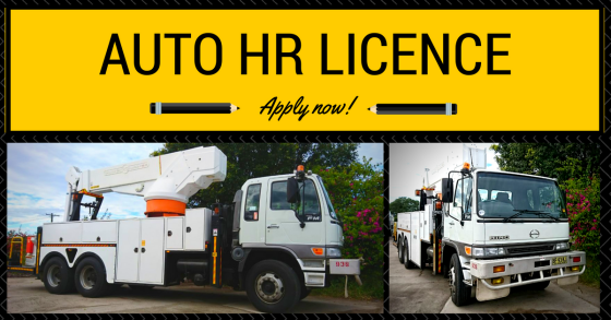 Automatic Heavy Rigid Licence Photo
