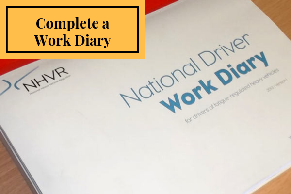 Complete A Work Diary Image