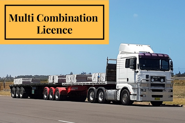 B-Double Multi Combination Licence