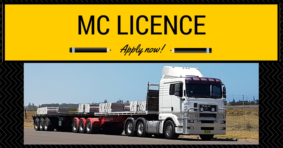 B-Double - MC Licence Image