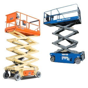 Scissor Lift Yellow Card Image