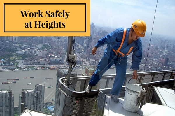 Work Safely at Heights Image