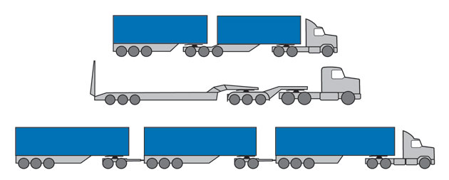 Multi Combination Truck Images